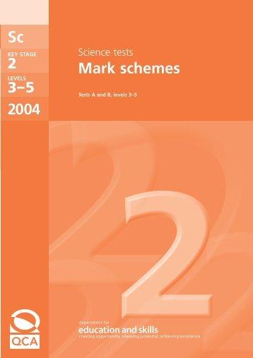 Mark Scheme - Emaths