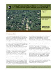 Developing an Urban Forest Management Plan for Hurricane-Prone ...