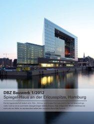 DBZ Bauwerk 1 2012 Die Verlagslandschaft ändert sich, Film-, Online