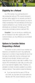 Requesting a Refund - TRS - Page 3