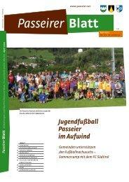 Passeirer Blatt, April-Ausgabe 2012 - zurück
