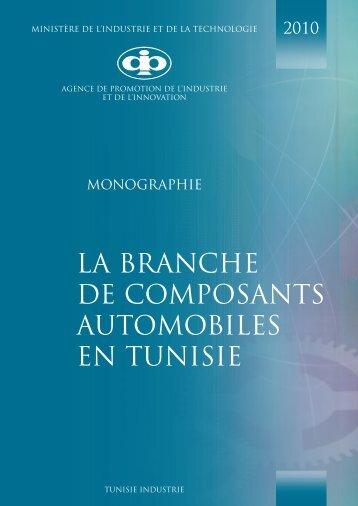 Composants Automobiles - Tunisie industrie
