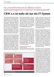 CRM 2.0 ist mehr als nur ein IT-System - solutionproviders