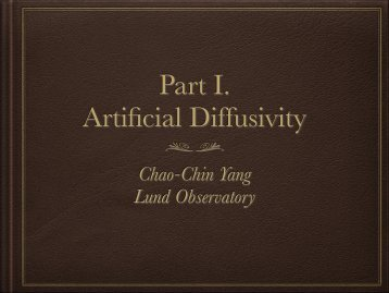 Chao-Chin Yang Lund Observatory