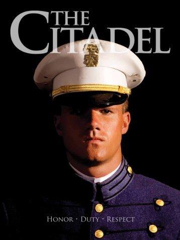 Honor • Duty • Respect - The Citadel