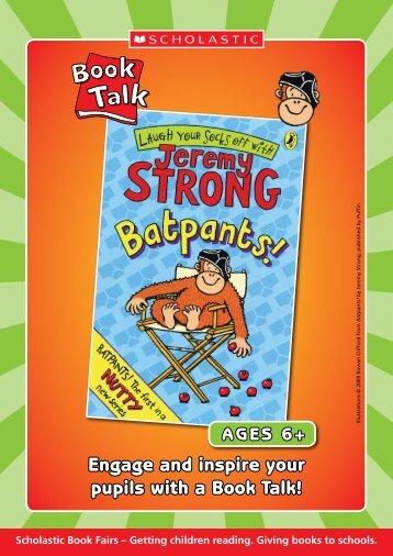 Batpants! by Jeremy Strong - Scholastic