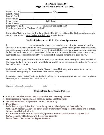 PoacNova Waiver Of Liability And Hold Harmless Agreement