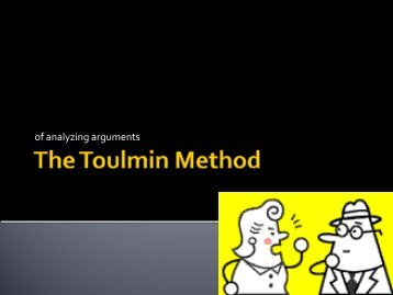 The Toulmin Method - Gordon State College