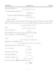 MATH 216T Homework 10 Solutions 1. Consider the elliptic curve y2 ...