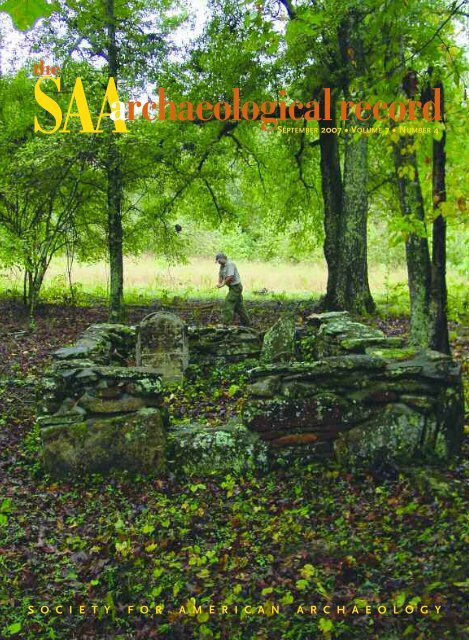 Number 4, September - Society for American Archaeology