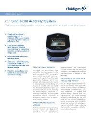 C1 ™ Single-Cell AutoPrep System