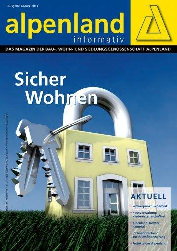 Alpenland Informativ PDF - Gemeinnützige Wohnbaugesellschaft ...