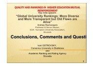 Dr. Ivan Ostrovsky - International Observatory on Academic Ranking ...