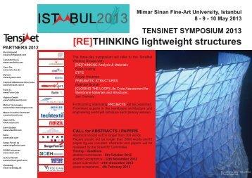 15102012 FLYER SYMPOSIUM 2013 .indd - TensiNet