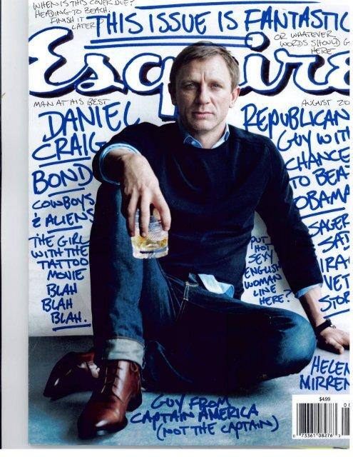 Esquire Magazine August 2011 - Rosenthal & Apa