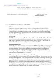 zwarte lijsten en de verklaring omtrent het gedrag - College ...