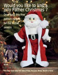 Would you like to knit a jolly Father Christmas ? - Search Press