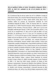 UTEI Vitória Audiência Pública realizada em Vitória no dia 19 de ...