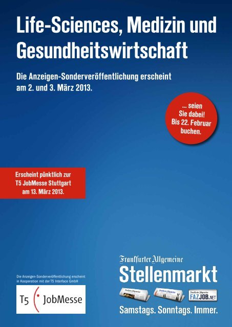 Life-Sciences, Medizin und Gesundheitswirtschaft - Verlag - FAZ.net