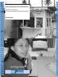 Global Report Enhancing Business-Community Relations - World ...