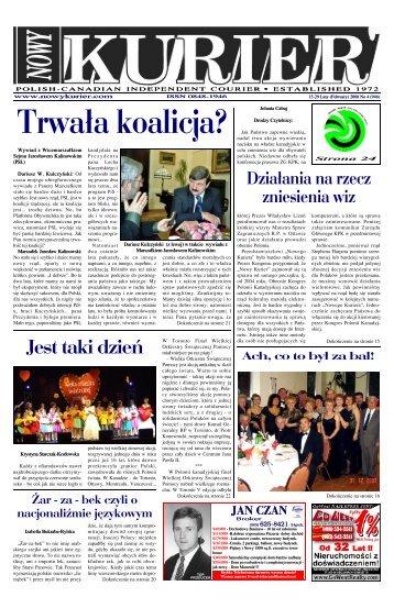 (February) 2008r. No 4 (946) - Nowy Kurier