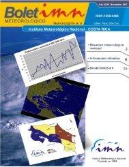 Comentario meteorológico de Noviembre de 2007 - Instituto ...