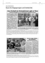Raum für Begegnungen und Solidarität - unesco-projekt-schulen ...