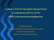 A phase I trial of Herceptin and paclitaxel in combination with IL-12 ...