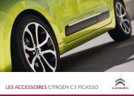 LES ACCESSOIRES CITROËN C3 PICASSO - Groupe Dallard