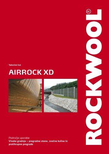 Airrock XD - rockwool adriatic