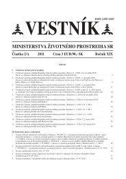 vestnik_02A:Layout 1 - Ministerstvo životného prostredia