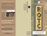 ROTC 09 brochure new2.indd - Northwest Florida State College