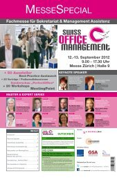Messespecial - Swiss Office Management