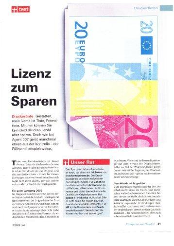 Lizenz - Swiss-Print-Shop