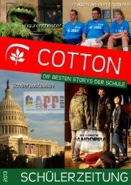 Download Cotton 2/2013 - Stadtgymnasium Köln-Porz