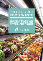 Checking Out Food Waste