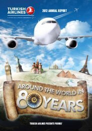 2012 ANNUAL rEporT - Turkish Airlines