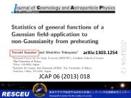 Statistics of general functions of a Gaussian field application to non ...