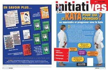 Télécharger le numéro Initiatives kata - Fédération Française de Judo