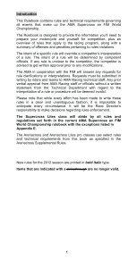 2012 AMA Supercross an FIM World Championship Rulebook - Page 3
