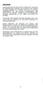 2012 AMA Supercross an FIM World Championship Rulebook - Page 4
