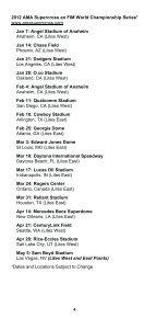 2012 AMA Supercross an FIM World Championship Rulebook - Page 6