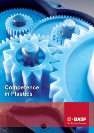 Competence in Plastics - Brochure - BASF Plastics Portal
