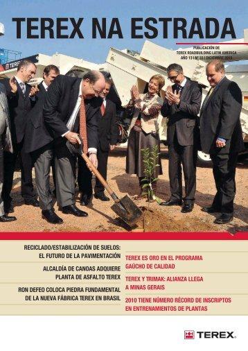 reciclado/estabilización de suelos - Terex