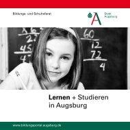 Lernen + Studieren in Augsburg - Bildungsportal Augsburg - Stadt ...