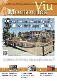 Maig - Ajuntament de Montornès del Vallès