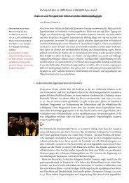 Chancen und Perspektiven interkultureller Medienarbeit