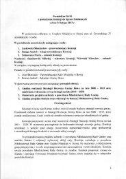 Protokół nr 56113 z posiedzenia Komisji do Spraw ... - Gmina Iłowa