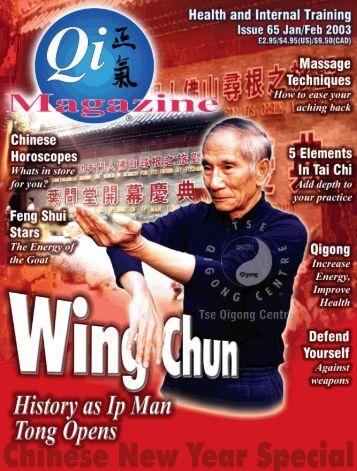 Issue 65 - Tse Qigong Centre