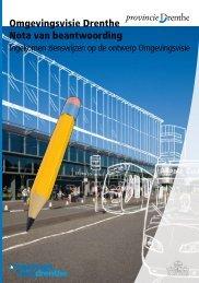 Omgevingsvisie Drenthe Nota van beantwoording - Provincie Drenthe